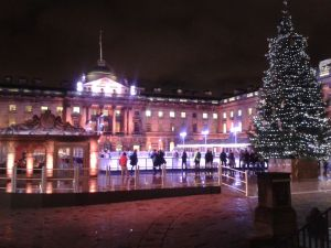 Somerset House in the winter