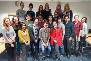 Bioethics & Society Class of 2015, with Dr Silvia Camporesi